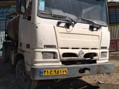 کامیون بادسان b8 قیرپاش