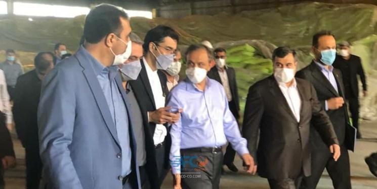 بازدید وزیر صمت از بندر شهید رجایی 5 | آفکو