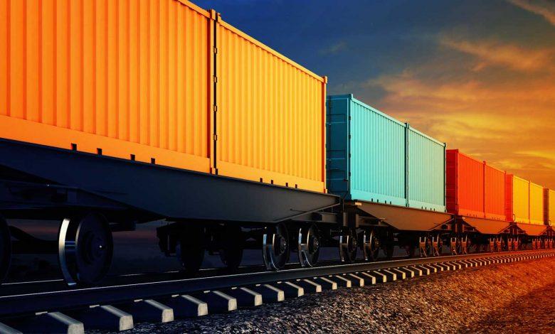 خط حمل و نقل کالاهای فلهای ریلی در شلمچه 5   آفکو