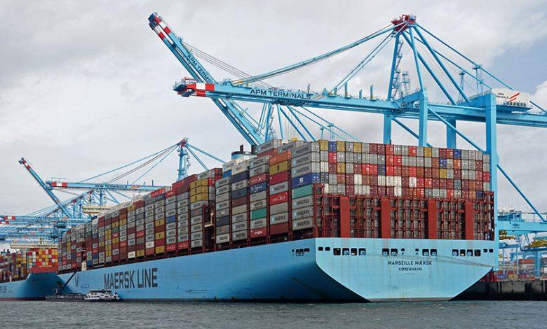 کشتیهای کانتینر بر 5 | آفکو