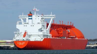 تصویر از کشتیهای حمل گاز (LNG carrier)