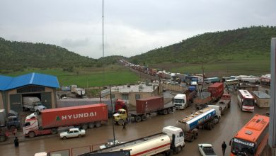 تصویر از افزایش ۴۹ درصدی کامیونهای خروجی از پایانههای مرزی جادهای کشور