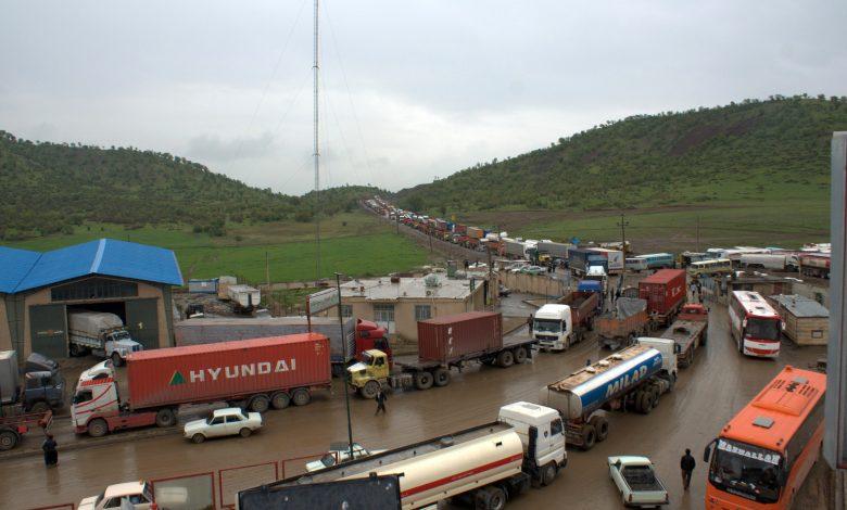 افزایش ۴۹ درصدی کامیونهای خروجی از پایانههای مرزی جادهای کشور 5   آفکو