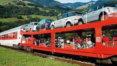 تصویر از واگن حمل خودرو