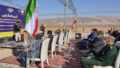 تصویر از پروژه ملی ساماندهی سه راهی خوی به دست استاندار آذربایجانغربی کلنگزنی شد
