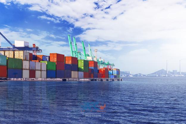 ۳ فروند کشتی اقیانوس پیما همزمان دربندرشهید باهنر پهلو گرفتند 5 | آفکو