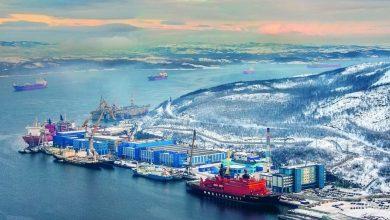 تصویر از ساخت قدرتمندترین ناوگان یخ شکن دنیا در روسیه