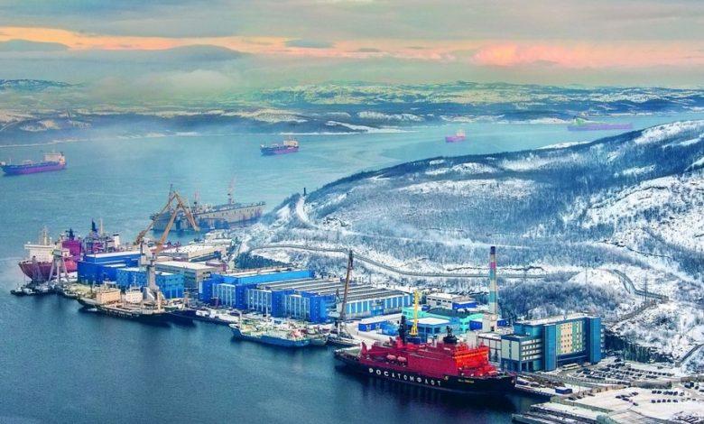 ساخت قدرتمندترین ناوگان یخ شکن دنیا در روسیه 9   آفکو