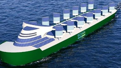 تصویر از طراحی و ساخت کشتی های سبز در ژاپن