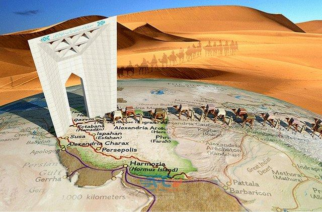 باز تعریف جایگاه تاریخی ایران در مسیر تاریخی جاده ابریشم 5   آفکو