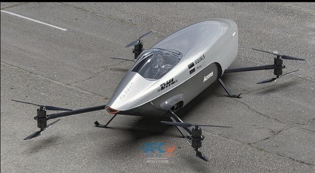 از نخستین خودروی پرنده مسابقهای جهان رونمایی شد 5 | آفکو