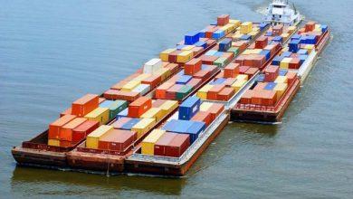 تصویر از دوبه در حمل و نقل دریایی