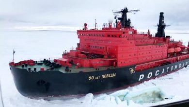 تصویر از ساخت اولین یخ شکن با سوخت ال ان جی در روسیه کلید می خورد
