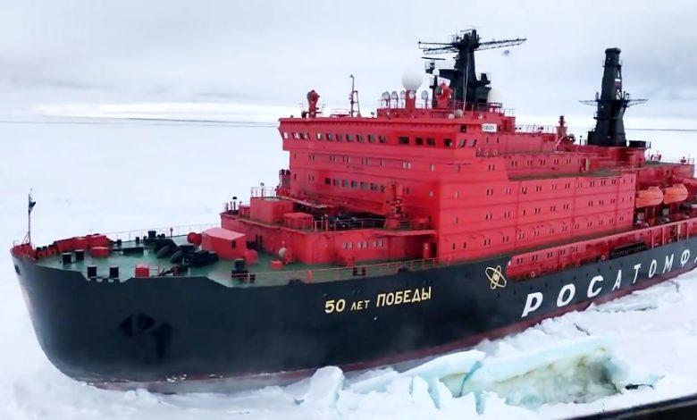 ساخت اولین یخ شکن با سوخت ال ان جی در روسیه کلید می خورد 5 | آفکو
