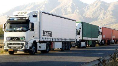 تصویر از امنیت کامل تردد کامیون های تجاری بین ایران و افغانستان
