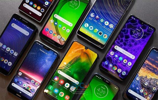 واردات گوشی موبایل 5   آفکو