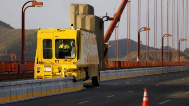 تصویر از جاده های متحرک با کمک ماشین زیپر
