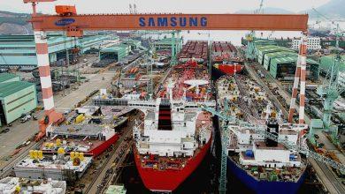 تصویر از سامسونگ موتور کشتی با سوخت آمونیاک می سازد