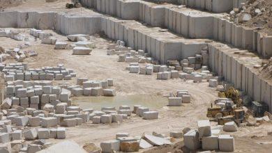 تصویر از صادرات سنگ ایران